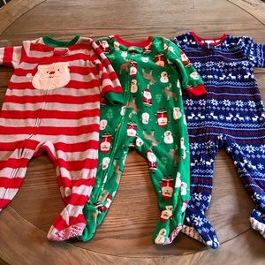 Christmas Holiday Fleece Pajamas